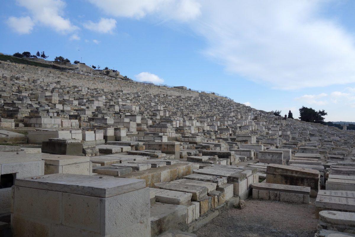 De Olijfberg in Jeruzalem, Israel