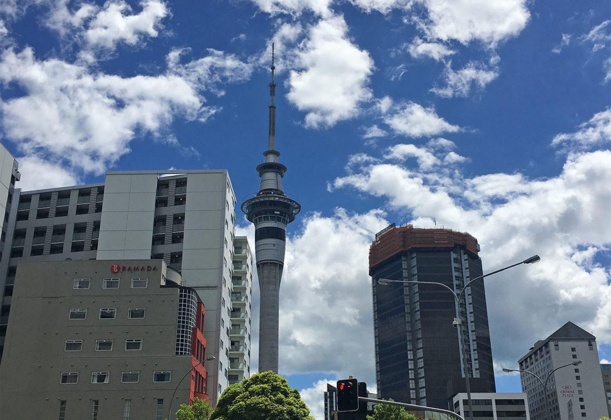 Auckland Skytower, Nieuw-Zeeland