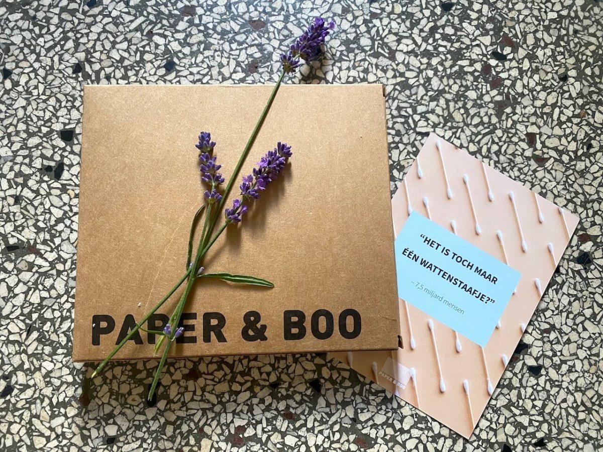 Paper & Boo herbruikbare wattenschijfjes