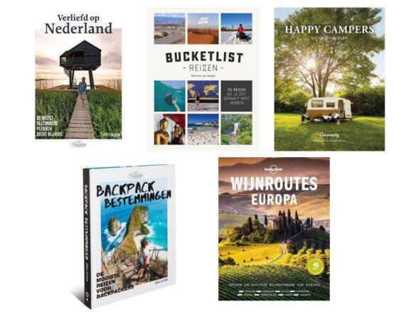 Deze reisboeken verdienen een plekje in jouw boekenkast!