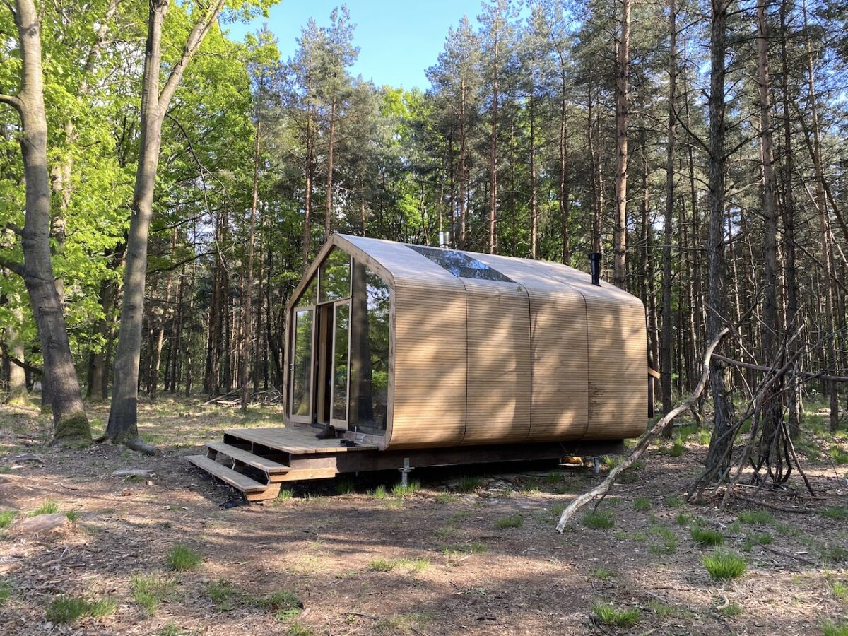 Cabiner in Drenthe, a tiny house in the Neterlands