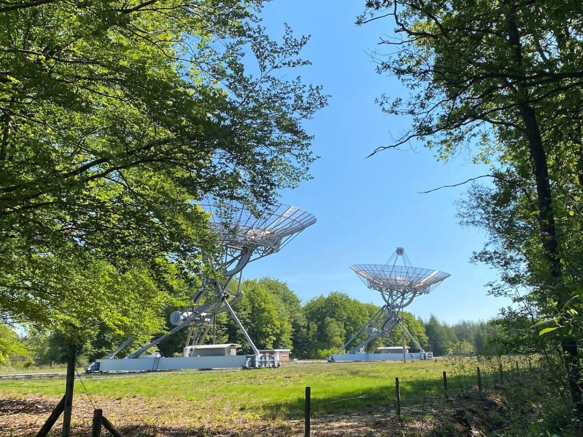Radio observatory Westerbork