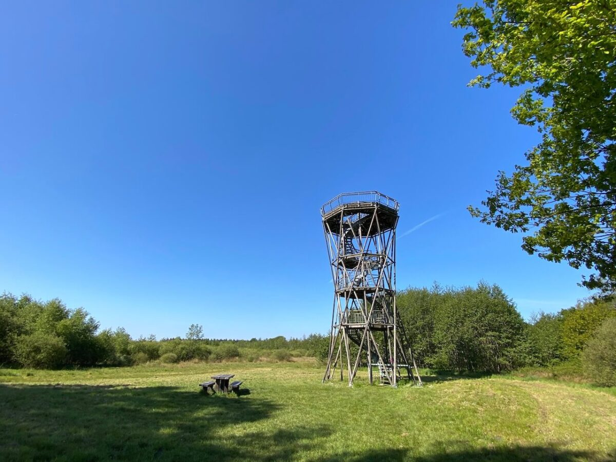 View tower at the Radio Observatory Westerbork