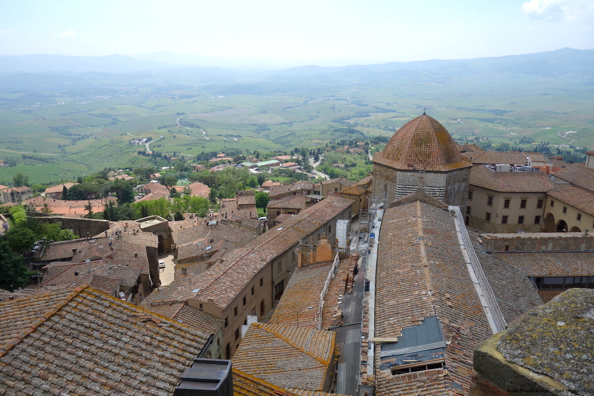 Een stedentrip Volterra