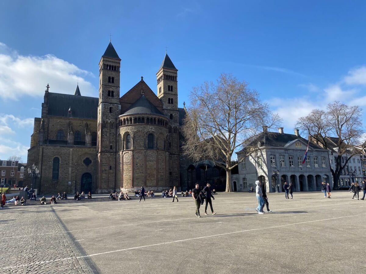 Vrijthof in Maastricht. tips weekend Maastricht