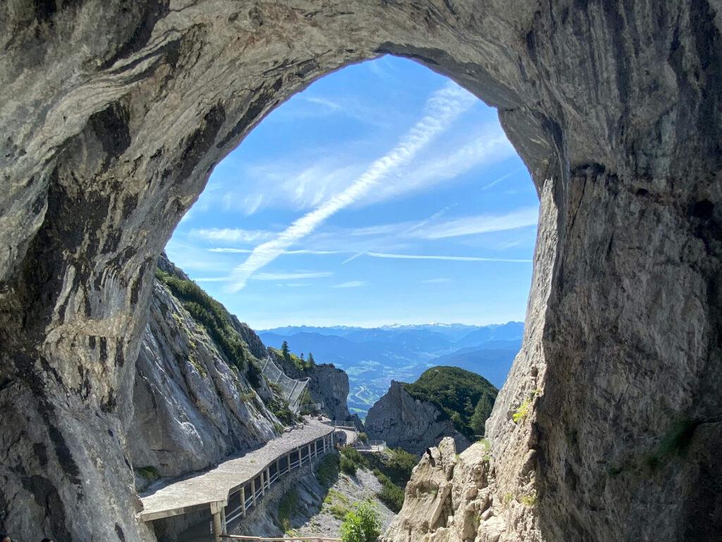 Eisriesenwelt ice cave in Salzburgerland, Austria
