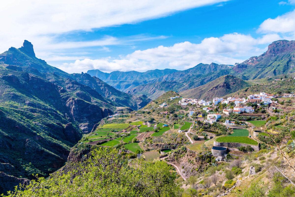 Een van de mooiste dorpjes in Spanje is Tejeda