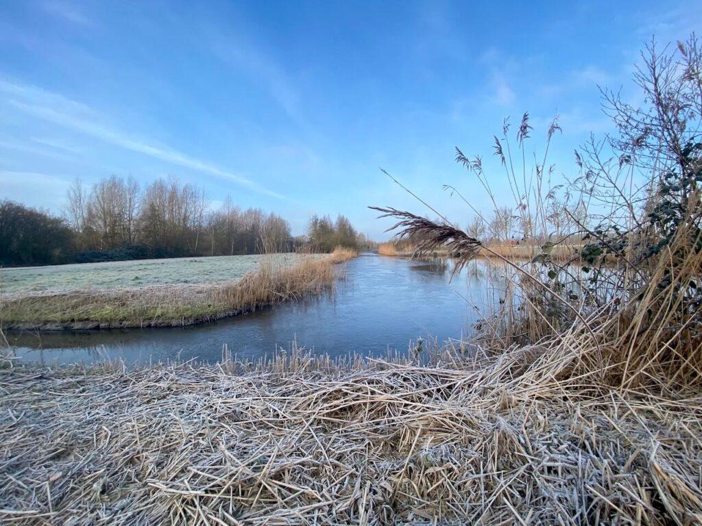 Utrechts Rondje Ruigenhoek in de winter