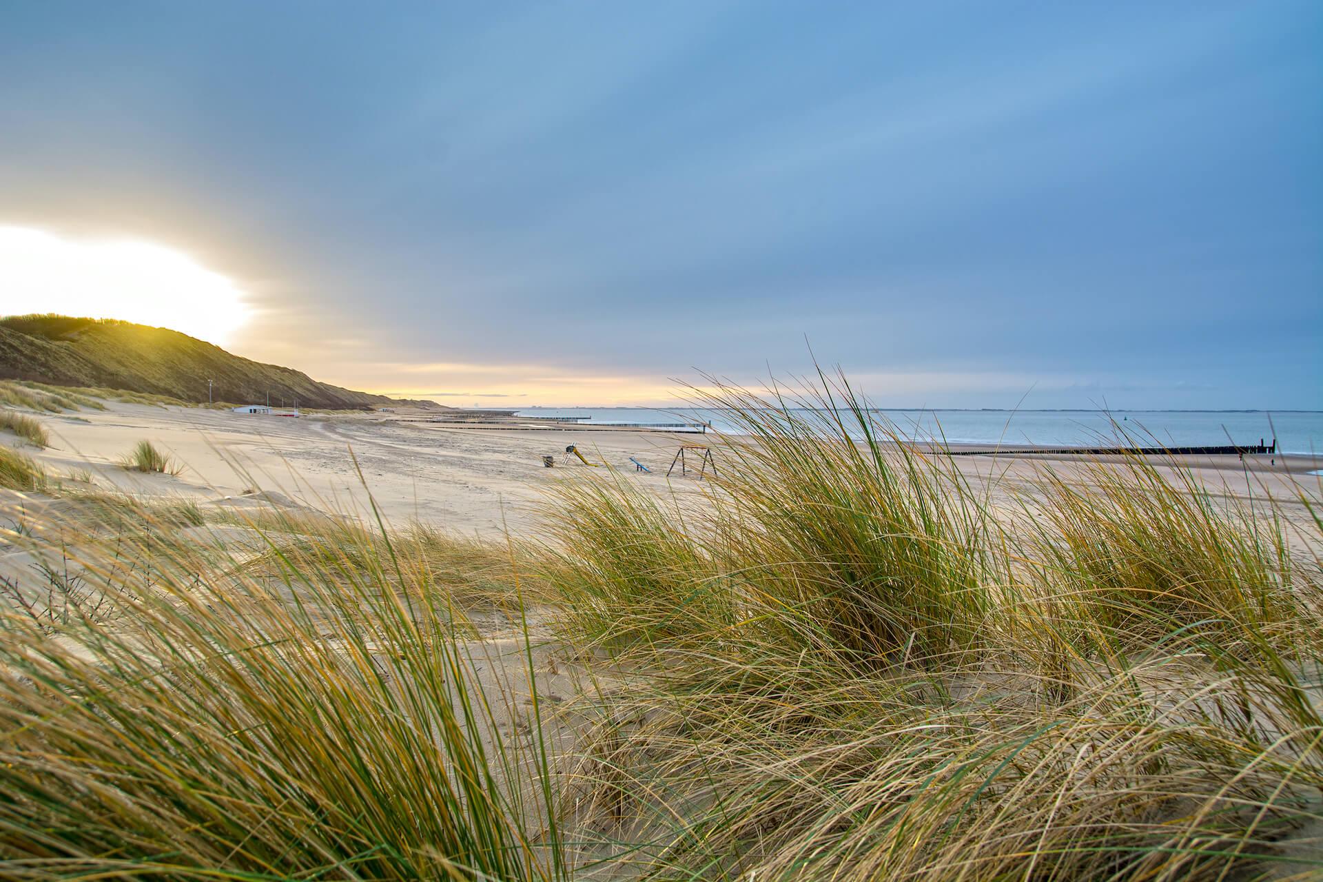 Noordzee Zoutelande Strand