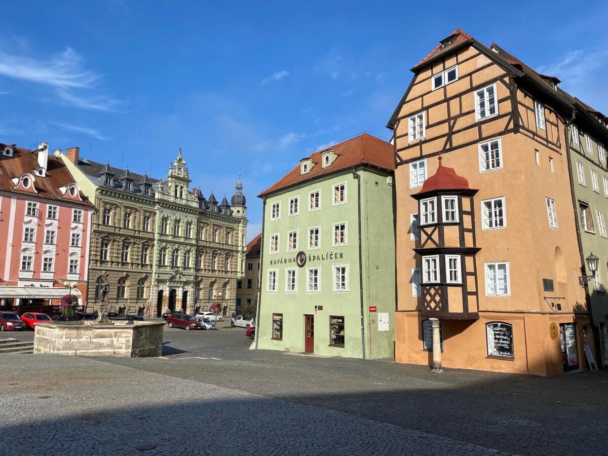 Špalíček in Cheb, Tsjechië
